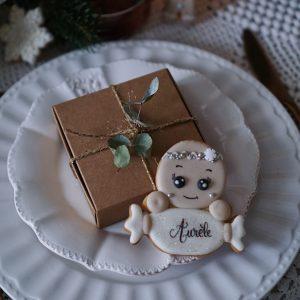 Petit biscuit personnalisé